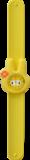 Kinderhorloge flower bunny geel _