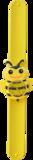 Kinderhorloge blije bij geel_
