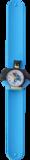 Kinderhorloge superheld vleermuis blauw _