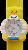 Kinderhorloge blije beer geel_