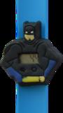 Digitaal kinderhorloge superheld vleermuis blauw _