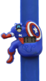 Digitaal kinderhorloge superheld Amerika donkerblauw_