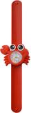 Kinderhorloge schattige krab rood_