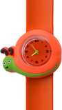 Kinderhorloge razendsnelle slak oranje_