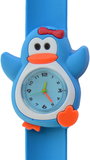 Kinderhorloge happy pinguïn lichtblauw _