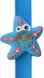 Kinderhorloge crazy zeester blauw_