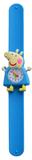 Kinderhorloge happy piggy blauw_