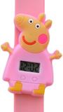 Digitaal kinderhorloge happy piggy lichtroze_