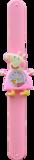 Kinderhorloge happy piggy lichtroze_