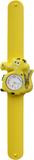 Kinderhorloge blije krokodil geel/wit_