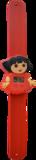 Digitaal kinderhorloge travel girl rood_