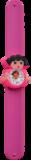 Kinderhorloge travel girl donkerroze_