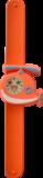 Kinderhorloge blije helikopter oranje_