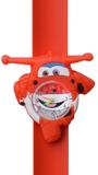 Kinderhorloge blije helikopter rood_