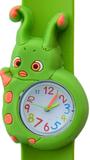 Kinderhorloge rups groen/wit_