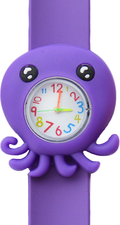 Kinderhorloge sweet octopus paars