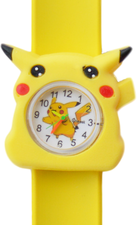 Kinderhorloge electric animal geel