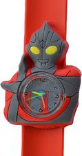 Kinderhorloge super robot rood/grijs