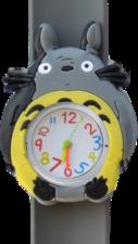 Kinderhorloge chinchilla grijs