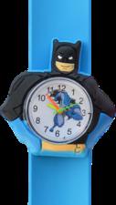 Kinderhorloge superheld vleermuis blauw