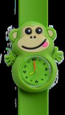 Kinderhorloge blije aap groen