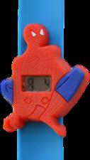 Digitaal kinderhorloge superheld rood/blauw