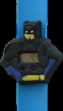 Digitaal kinderhorloge superheld vleermuis blauw