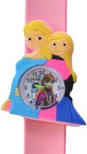 Kinderhorloge prinsessen zusters lichtroze