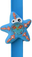 Kinderhorloge crazy zeester blauw