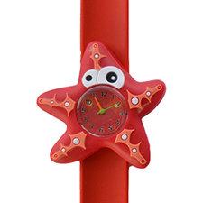 Kinderhorloge crazy zeester rood