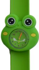 Kinderhorloge crazy kikker groen
