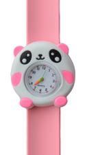 Kinderhorloge cute panda lichtroze