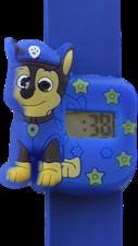 Digitaal kinderhorloge politiehond paars