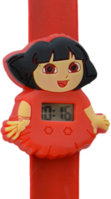 Digitaal kinderhorloge travel girl rood