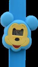 Digitaal kinderhorloge blauwe muis