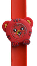 Kinderhorloge happy tiger rood