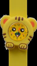 Kinderhorloge happy tiger geel