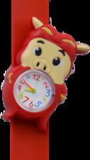 Kinderhorloge actie varken rood
