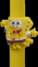 Kinderhorloge blije spons geel
