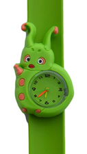 Kinderhorloge rups groen