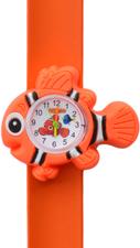 Kinderhorloge blije clownvis oranje/wit