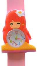 Kinderhorloge flower girl lichtroze