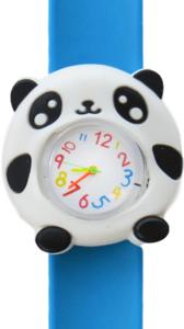 Cute panda blauw