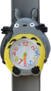 Kinderhorloge chinchilla grijs