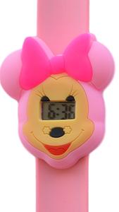 Digitaal kinderhorloge muizenmeisje roze