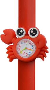 Kinderhorloge schattige krab rood
