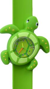 Kinderhorloge schildpad groen