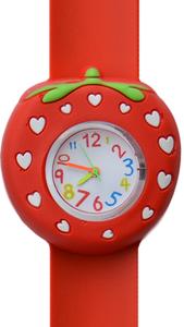 Kinderhorloge lovely aardbei rood