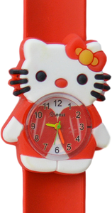 Kinderhorloge hello katje rood