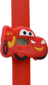 Digitaal kinderhorloge crazy auto rood